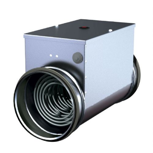 S&P Metal Duct Heater Battery With Integrated Temperature Controller Kit 250mm 240V~50Hz